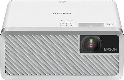 Epson EF-100W Il Videoproiettore per Ogni Occasione, Sorgente luminosa laser, Bianco