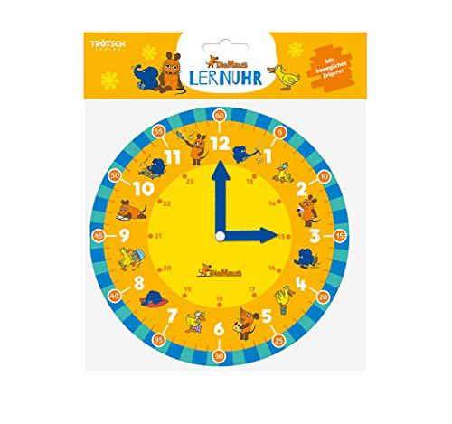 Trötsch Die Maus Lernuhr: Lernspiel Uhr lernen Die Sendung mit der Maus (Lernuhr / mit beweglichen Zeigern)