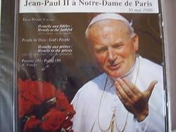 Jean-Paul II a Notre-Dame de Paris