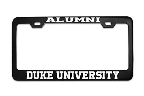 Mark Reynolds Alumni Duke University University Black Metal Steel License Plate Frame Tag Black