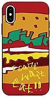 可愛い Text Weight Hamburger文字 ウェイト ハンバーガー キャラクター iPhone ケース 互換対応と Galaxy ケース 互換対応 TPU と ポリカーボネート ミラー 機能 マグネチック ドア カード 収納 バンパー スマホケース BC-BTS-21-48-P003 (Galaxy s8) [並行輸入品]