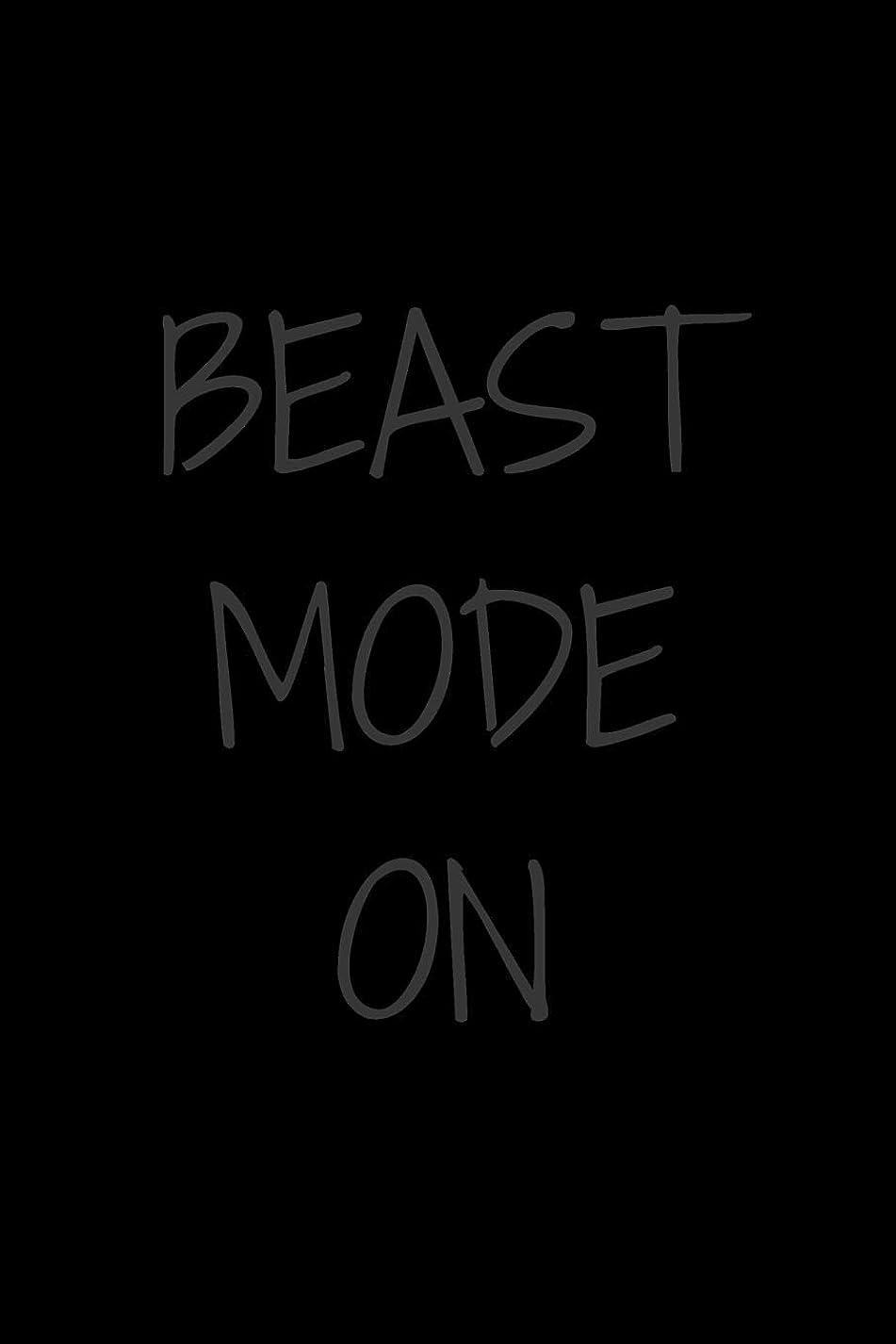 地下室絶縁するペルーBeast Mode On: Unleash your Potential   Workout Journal for Beasts   Perfect Gift for Gym Lovers