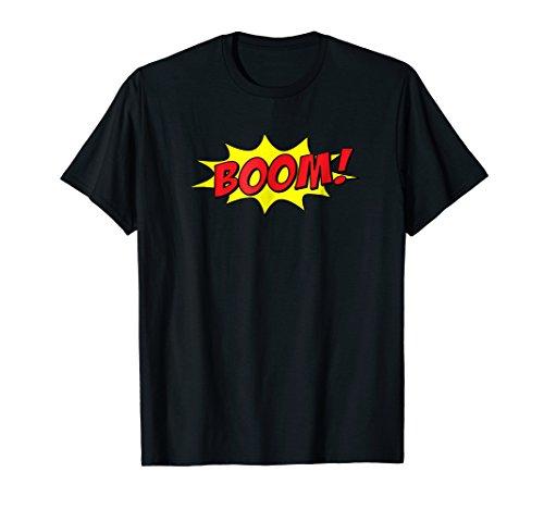 BOOM Pop Art T-Shirt   Summer Sun & Fun