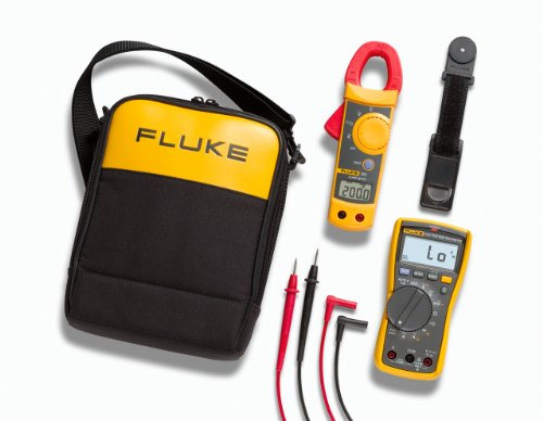 Fluke 117/322 Electricians Multimeter and Clamp Meter Combo Kit -