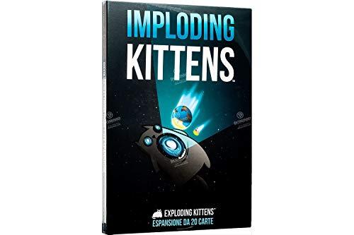 Asmodee- Imploding Kittens, Gioco da Tavolo, Colore, 8542