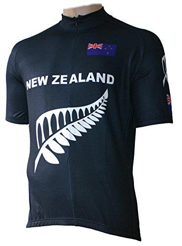 Skaide Radtrikot New Zealand Retro, Größe S bis 6XL (2XL)