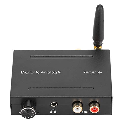 Conventer digital a analógico, duradero de digital a analógico, 30 mw 2 vrms para enseñanza o cine en casa(AY91)
