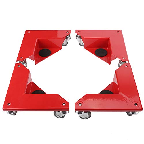 Amarite Desk and Cabinet Corner Mover Dolly, with 1320lbs Capacity(Set of 4)