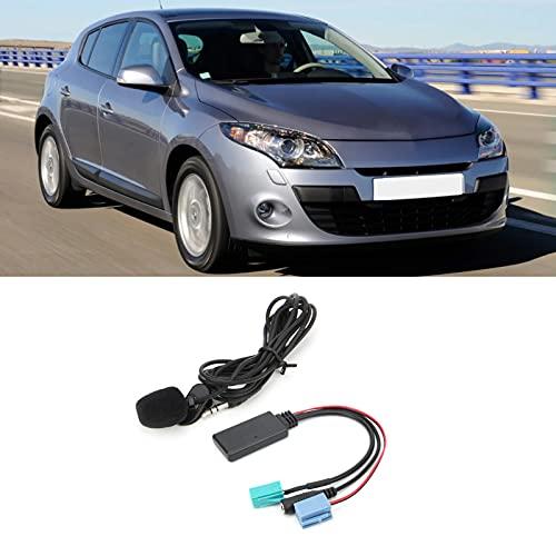 Módulo Bluetooth para automóvil, Adaptador AUX Bluetooth estable y de fidelidad Compatible con todo el mundo, 6 pines, 8 pines, transmisión de gran capacidad, Plug and Play para automóvil,