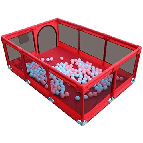 JFFFFWI Adorable Safety Play Center Yard Baby Playpen Safety Fence Enfants Enfants Indoor Outdoor Safe Game, Green