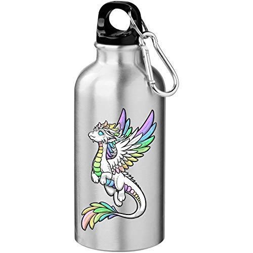 Iprints Colorful Cartoon Draak Graphic Tourist Water Bottle