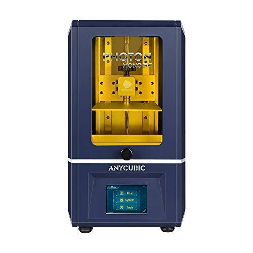 Anycubic Stampante 3D, Photon Mono SE Schermo LCD monocromatico 2K Telaio in metallo Stampa rapida Supporto per telecomando con sistema di raffreddamento UV