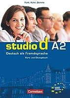 Studio d: Kurs- und Arbeitsbuch A2 mit CD
