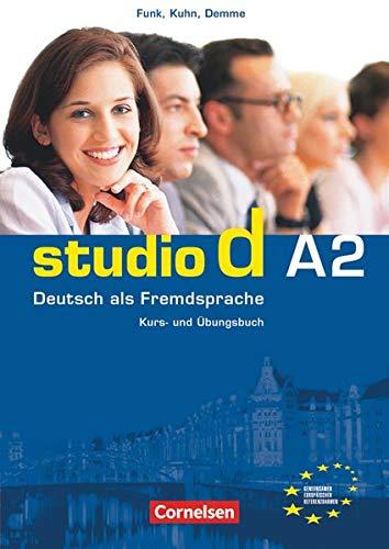 Studio d - Deutsch als Fremdsprache - Grundstufe - A2: Gesamtband: Kurs- und Übungsbuch mit Audio-CD - Hörtexte der Übungen und des Modelltests Start Deutsch 2