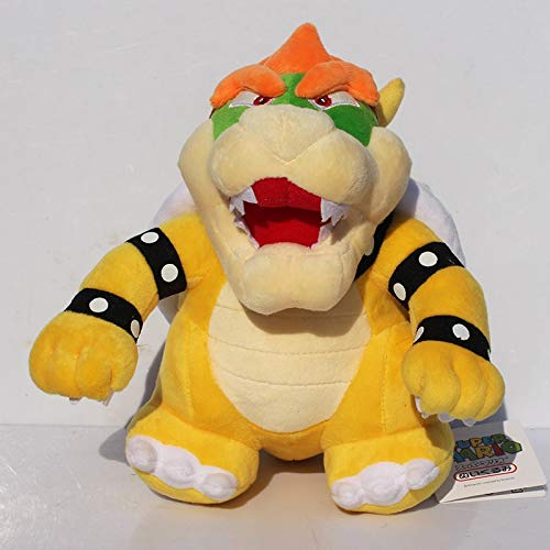 25cm Stand Super Mario Bros Bowser Koopa Knuffels Knuffels Soft Doll For Kid gratis verzending