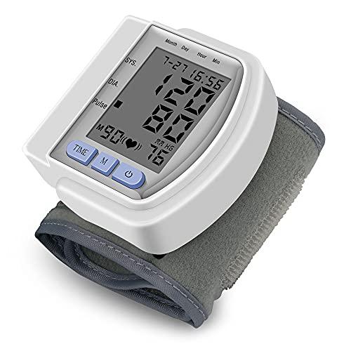 Manguito de presión arterial, monitor automático de la presión arterial con la detección irregular del latido del corazón, 1 tamaño BP PUFF se ajusta a todos, compacta y fácil de transportar el monito