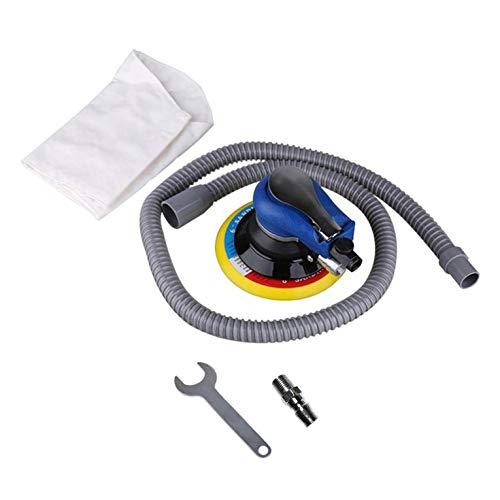 Lijadora de aire portátil Pulidora Pulidora neumática Pulidora con almohadilla de lijado al vacío de 5 pulgadas