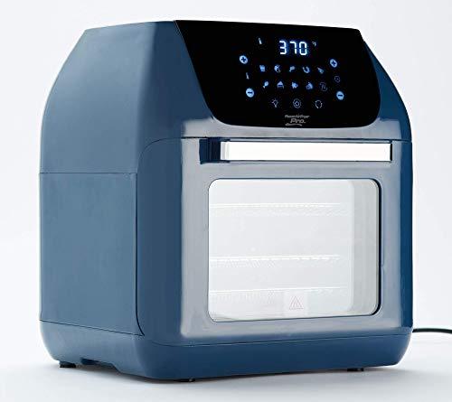 Power XL 10-in-1 1500W 6-qt Pro XLT Air Fryer Oven w/Rotisserie (Navy) (Renewed)