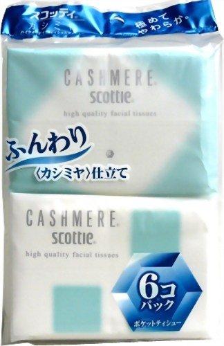 日本製紙クレシア『スコッティ カシミヤ ポケット』