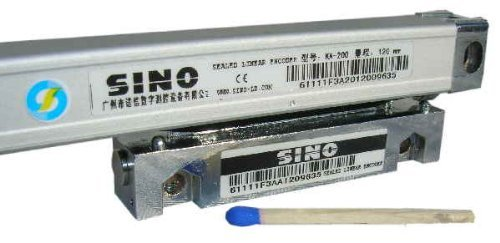 SINO Glasmassstab / Auflösung 1 µm / Typ KA200 (16x16) / Messlänge 130 mm