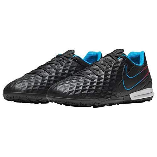 Nike Legend 8 Academy TF, Zapatillas de ftbol Unisex Adulto, Black Black Siren Red Lt Photo Blue Cyber, 40 EU