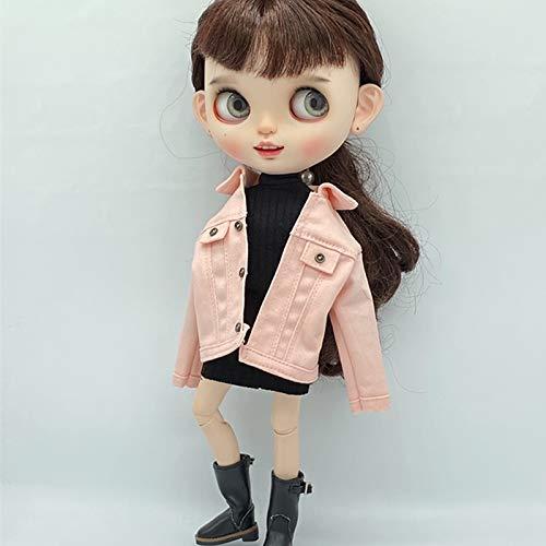 leoglint Blythe Doll Clothes, Coat Clothing for Blythe Doll 30 cm 1/6 Bjd Dolls Azone ICY Licca Doll