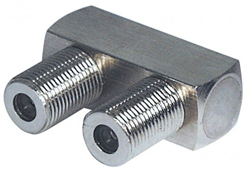 F-Verbinder U-Form, F-Buchse an F-Buchse