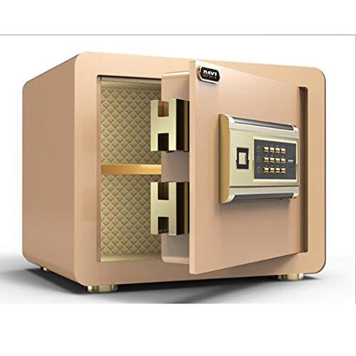 Veiligheid Veilig, High Security Electronic Digital Safe, Wall of kabinet Verankering Ontwerp Steel Alloy kluis met digitaal slot,Gold