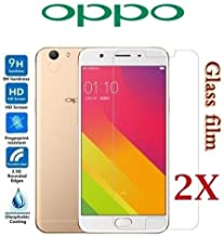 2X Oppo A57 A73 F1S R9S R9 Plus R15 R17 Pro Tempered Glass/Screen Protector (Clear Plastic Protector, Oppo F1s)