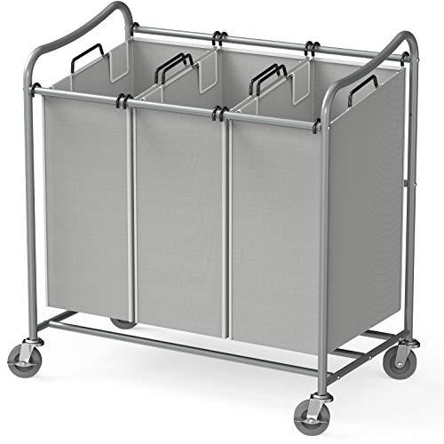 Best 3 bag laundry cart