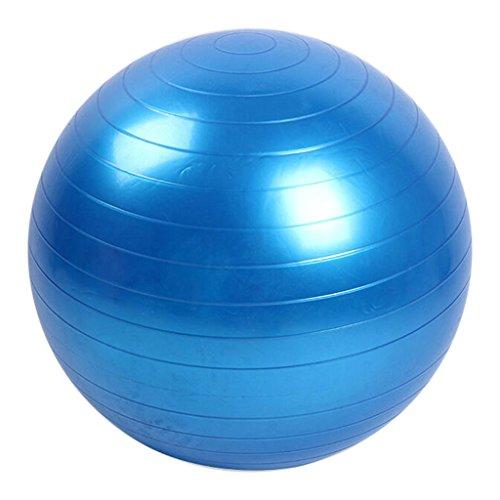 FATTERYU 45cm Dimensioni Fitness Esercizio di Allenamento Equilibrio Classe di Yoga Gym Ball Core Gymball PVC Blu