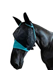 This is a full face mesh fly mask complete with air stream fabric covering the ears to provide flexible protection. Ergonomic shaping and fleece padding along the seams keeps the fly mask away from the eyes and reduces gaps. Horse Fly Mask,Designed w...