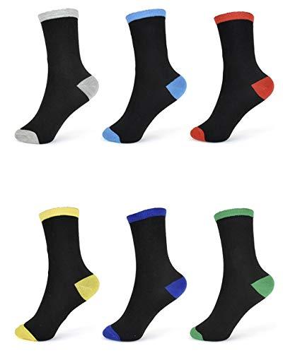 6 Paar Jungen Socken | Kinder Strümpfe | Kindersocken 26-31 / mehrfarbig 2
