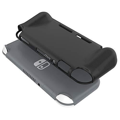 ProCase Nintendo Switch Lite Case, Ultra Slim Soft TPU Grip Cover Skin Shock-Proof Anti-Scratch Protective Case for Nintendo Switch Lite 2019 Release –Black