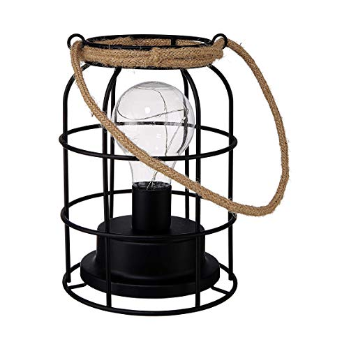 Butlers Lantern Laterne mit Glühbirne