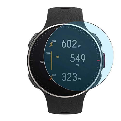 Vaxson 3 Stück Anti Blaulicht Schutzfolie, kompatibel mit Polar Vantage V Titan smartwatch Smart Watch, Displayschutzfolie Anti Blue Light [nicht Panzerglas]