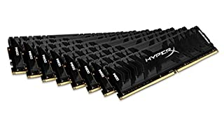 HyperX Predator - Memoria RAM de 128 GB (DDR4, Kit 8 x 16 GB, 3000 MHz, CL15, DIMM XMP, HX430C15PB3K8/128) (B072QBZ2H5)   Amazon price tracker / tracking, Amazon price history charts, Amazon price watches, Amazon price drop alerts