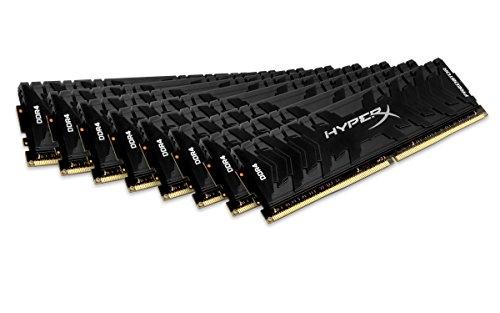 HyperX Predator HX430C15PB3K8/128 Arbeitsspeicher 3000MHz DDR4 CL15 DIMM XMP 128GB Kit (8x16GB) schwarz