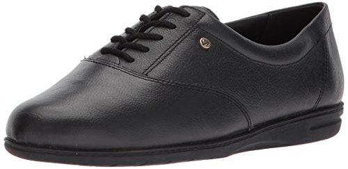 Easy Spirit Women's Motion Lace Up Oxford,Black,9 2A US