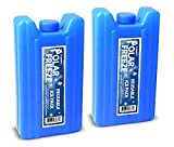 Flaskamite Hidden Flask Freeze Ice Pack Flask-Smuggle Your Booze Large 14 oz Flasks (2)