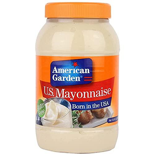 American Garden U.S Mayonnaise Gluten Free, 887 ml