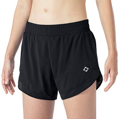 NAVISKIN Pantalones Cortos para Correr de Secado Rápido Transpirables 2 en 1...
