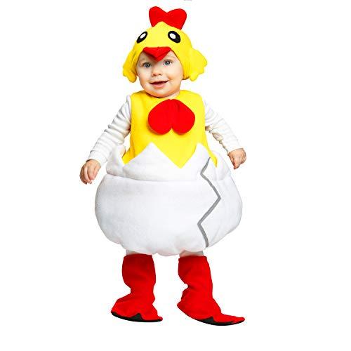 My Other Me-204205 Disfraz de pollito unisex, 1-2 años (Viving Costumes 204205)