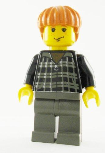 LEGO Harry Potter: Minifigur Ron Weasley mit schwarz kariertem Pullover