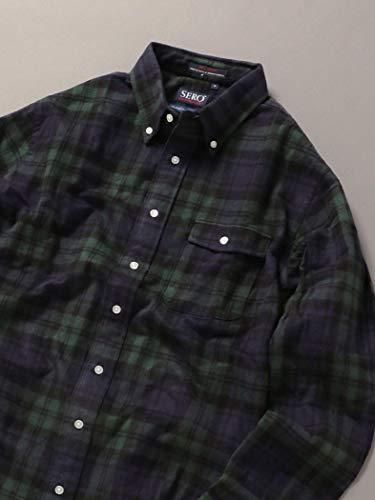 SHIPSJETBLUE『SERO別注ボタンダウンネルチェックシャツ』