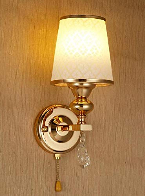 Kronleuchter Deckenleuchte Led-Lichtschlafzimmer-Doppelkopf-Wandlampe Moderner Minimalistischer Spiegel-Frontbirnen-Wandlampe