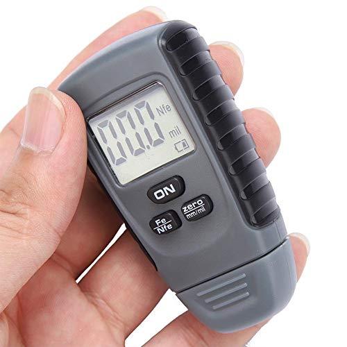 Vernice misuratore di spessore - Rivestimento auto dispositivo di misurazione del tester vernice misuratore di spessore con display digitale a cristalli liquidi
