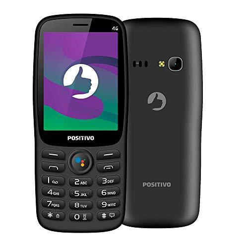 """Celular Positivo P70S 3G KaiOS 2.8"""" - Preto"""