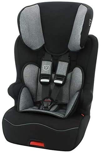 Seggiolino auto NANIA ISOFIX RACER- Gruppo 1/2/3 (9-36kg) con sedile inclinabile - produzione francese 100% - protezioni laterali
