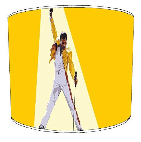 Premier Lighting Ltd 8 inch Queen Freddie Mercury Rock Bands paralumi9 per Una Lampada da Tavolo